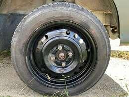 2インチリフトアップ、タイヤのサイズは14インチです♪