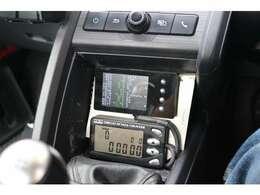 サーキット走行可能なカウンター付き、、タービン交換の燃調はフラッシュエディターで制御