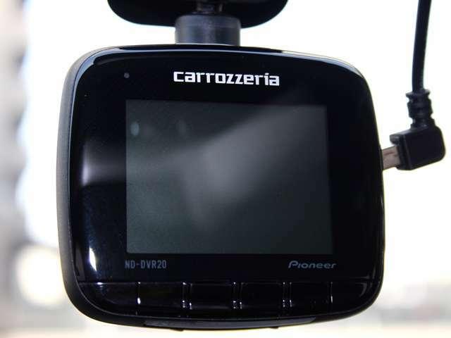 フロントにカロッツェリア製のドライブレコーダーを装備しておりますので安心です!
