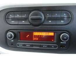 純正オーディオの中にBluetooth接続が付いております。Bluetooth接続に対応しております音楽プレイヤーを接続すれば車内で音楽を楽しむことができます♪素敵なドライブをお楽しみください!