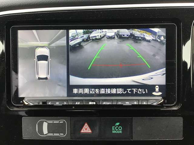 マルチアラウンドモニター装備車両のため、駐車の際も安心できます