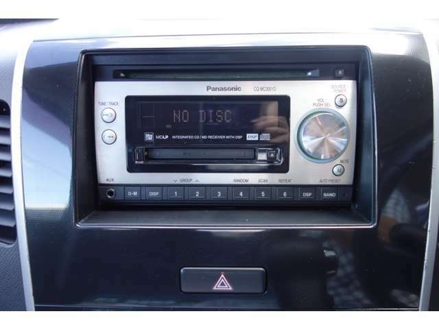 社外CDオーディオ付き。