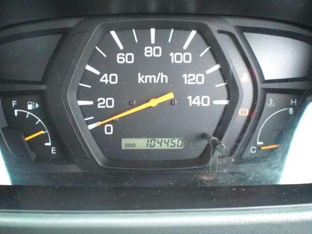 走行104000km。まだまだ快調です!