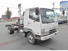 三菱ふそう ファイター キャブ付シャーシ KK-FL63HG 4WD