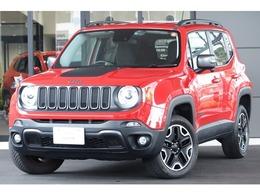 ジープ レネゲード トレイルホーク 4WD 認定中古車 2DINナビ 地デジ Bカメラ