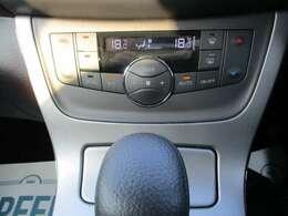 運転席と助手席の温度を別々に設定できます。