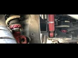 KYB車高調付きです。車高をお好みの高さに調整可能です!