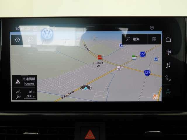☆タッチスクリーン式のMMIナビゲーションは10.1インチの高解像度モニターディスプレイを搭載☆