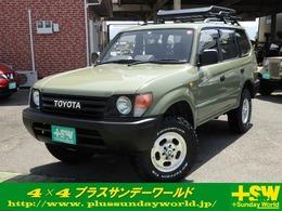 トヨタ ランドクルーザープラド 3.0 TX ディーゼルターボ 4WD 新品アルミタイヤ 新品シートカバー