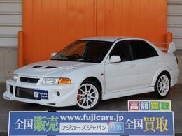 三菱 ランサーエボリューション 2.0 GSR VI トミー・マキネンエディション 4WD フジツボマフラー 純正17インチAW