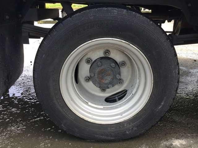 ☆リア ダブルタイヤ 155R12 8PR