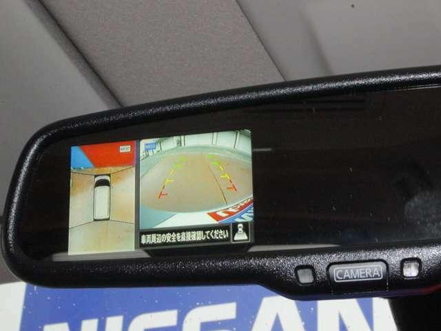 アラウンドビューモニター付き★上から見下ろした映像を見ながらラクラク駐車♪