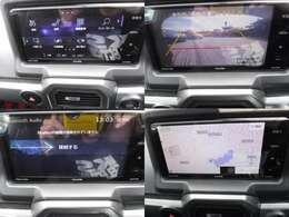 SDナビ搭載 Bluetooth機能 地デジ 豊富なAVソース画面♪