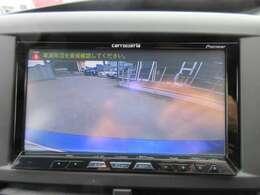 カロッツェリアメモリーナビ♪ バックカメラ付き♪ 駐車も安心ですね♪
