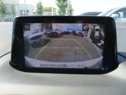 ■バックカメラ付きで後方視界の確保OKです。目視確認も忘れずにお願いします。
