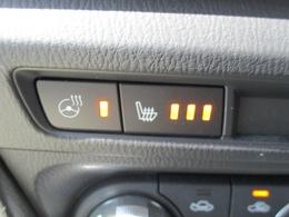 ■シートヒーターにステアリングヒーター付き