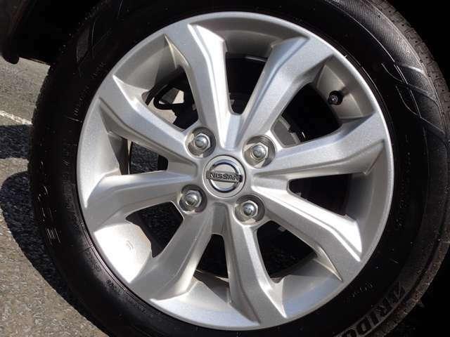 【タイヤ】 【純正14インチアルミホイール】《155/65R14》専用のアルミなのでお車のイメージぴったりですね!