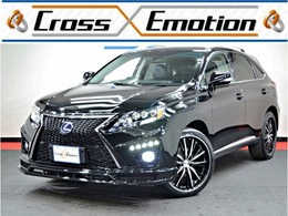 レクサス RXハイブリッド 450h バージョンL エアサスペンション 4WD スピンドル仕様 サンルーフ 黒本革シート