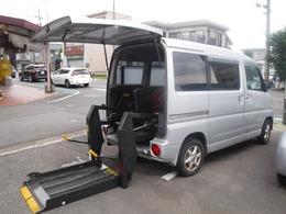 三菱 タウンボックス 660 福祉車両 リア電動リフト 4WD