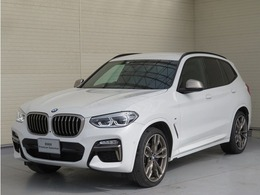 BMW X3 M40d ディーゼルターボ 4WD OP21AW茶革アラウンドビューACCHUD