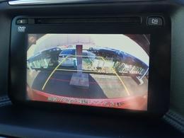 バック・サイドカメラ付きメモリーナビですこれで大き目の車体も大丈夫