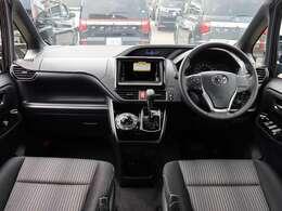 【 前席全体 】'20/04からトヨタエンブレムに変更されたヴォクシーが入荷しました!
