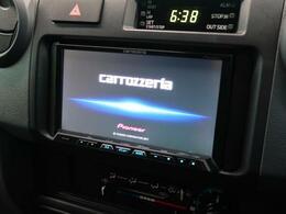 【カロッツェリアSDナビ】CD,DVD、Bluetooth再生可能な良質ナビゲーションです♪