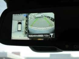 ◆アラウンドビューモニター◆真上から見下ろしているかのような映像で白線や駐車しているクルマとの位置関係がひと目でわかって安心です!