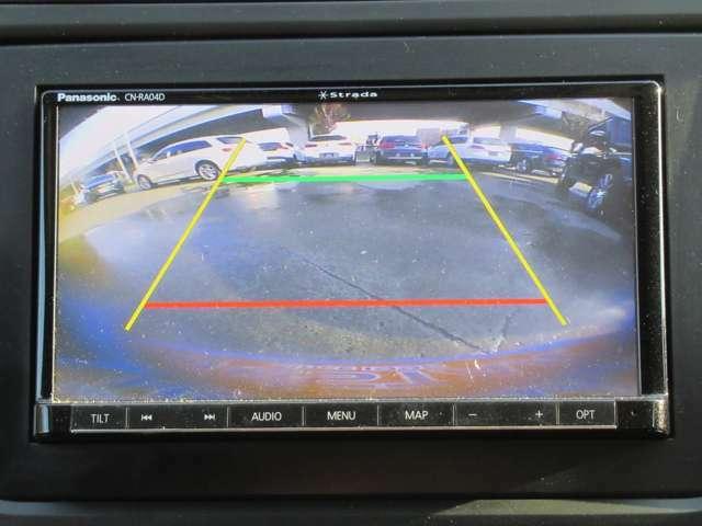 バックカメラもあります♪駐車が苦手な方や狭い所に駐車する時でも楽々です♪