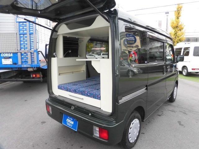 エブリージョイン新車への装着キャンピングです CORSAオリジナル軽キャンピング 詳細情報は当社HP ユーチューブでご確認出来ます