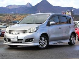 日産 ノート 1.5 15G FOUR 4WD 1オーナーEGスターターサイバーナビ地デジ
