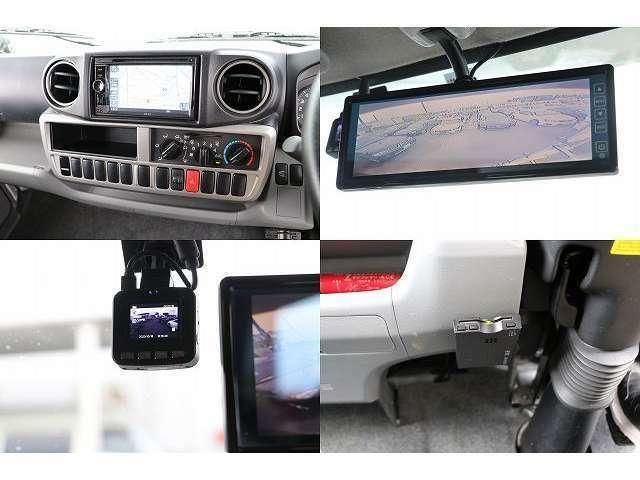 SDナビ 地デジフルセグTV DVD再生 常時バックカメラ ドライブレコーダー ETC