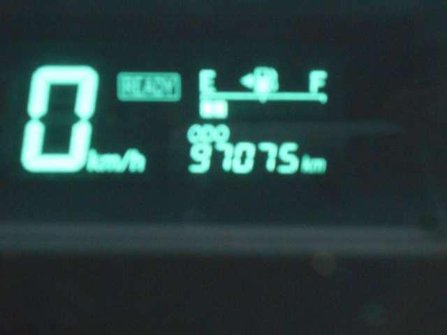 走行距離97075km