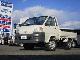 トヨタ タウンエーストラック 1.8 DX シングルジャストロー スチールデッキ 三方開 4WD