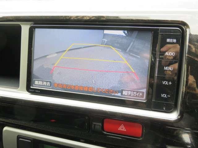 バックカメラ装備しています!且つ、フロント・リア共にコーナーセンサーも装備しています。