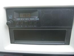 ラジオがついてますね