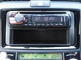 KENWOODのCDオーディオ搭載!AUX/USB端子も付いています。