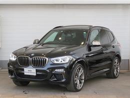 BMW X3 M40d ディーゼルターボ 4WD 21AWWSR黒革H&KサラウンドACCHUD