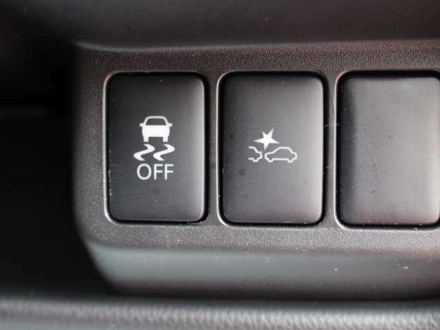 走行安定性を向上、走行時の安心感を高めます。「横滑り防止装置VDC付」