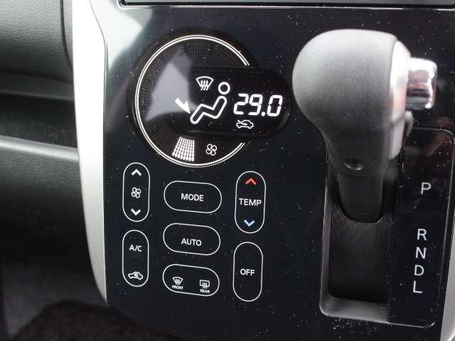 操作が簡単なオートエアコンです★ご家庭のエアコンと同じ感覚で操作できますよ♪