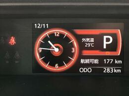 走行距離300キロ以下!たくさん走って燃費をどんどん良くしちゃいましょう^^