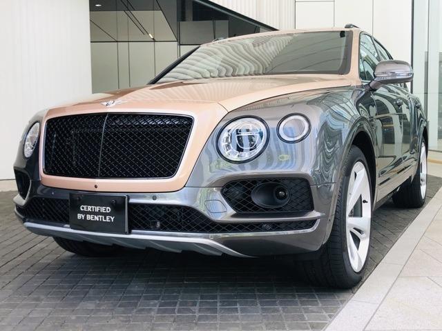 2019年モデルのBentayga V8が入荷致しました。