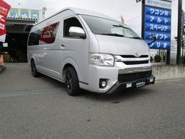 トヨタ ハイエース 2.7 グランドキャビン 4WD デイライト付スポイラーRPMR0517インチAW