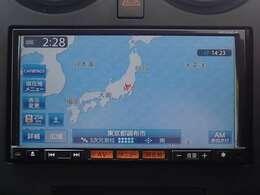 純正メモリーナビ(MC313D-A)付だから初めての場所へのお出かけも安心。地デジTVが見られDVが再生出来ます。