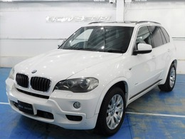 BMW X5 xドライブ 30i Mスポーツパッケージ 4WD /黒本革/サンルーフ/ナビTV