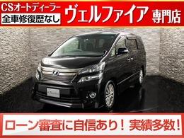 トヨタ ヴェルファイア 2.4 Z 後期型/サンル-フ/両側自動ドア/Rモニタ-