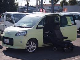 トヨタ ポルテ 1.5 X ウェルキャブ 助手席リフトアップシート車 Aタイプ 4WD 本州仕入 キーレス 片側電動スライドドア