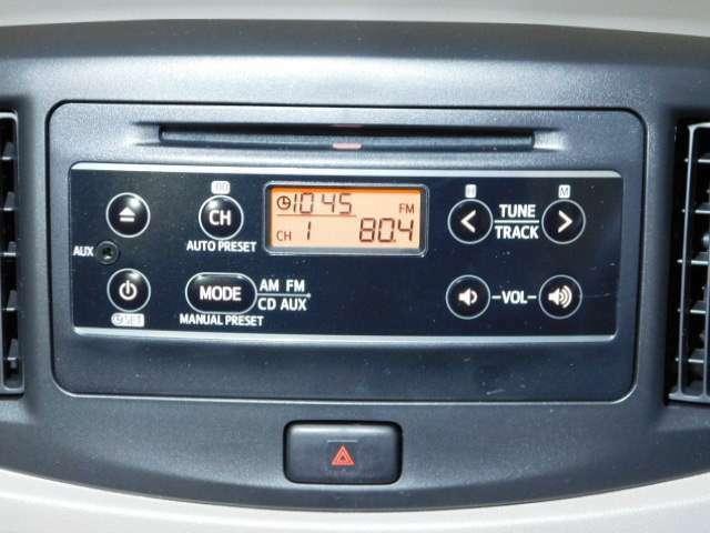 AM/FMラジオ付きCDプレーヤー♪