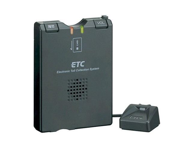 Aプラン画像:LED内蔵小型アンテナ付属の音声案内・カード抜き忘れ警告・利用履歴確認機能搭載DC12V・24V対応分離型ETC車載器です。★セットアップ・工賃込み★