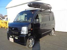 マツダ スクラム 660 バスター ハイルーフ 4WD パートタイム4WD 手作りベッドキット